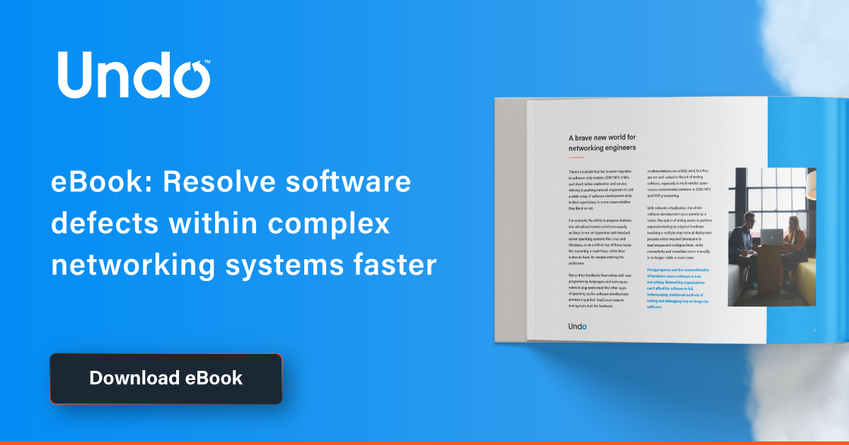 Resolve software defects within complex networking systems faster