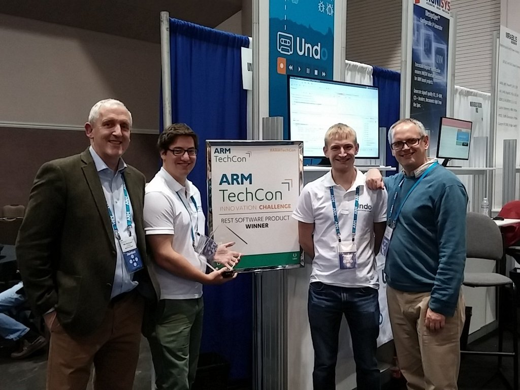Live Recorder wins Best Software Product in the ARM Innovation Challenge